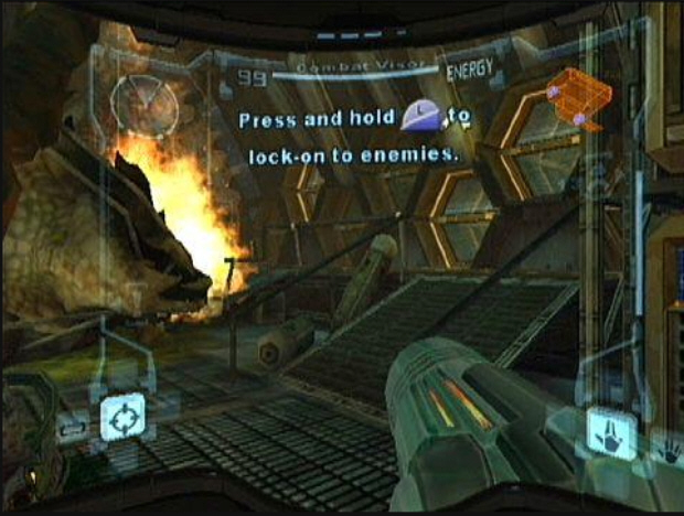 metroid-prime-tutorial-pirate-ship-screenshot